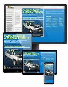 2008 Mazda Tribute Haynes Online Repair Manual