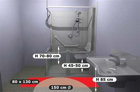 accessibilite salle de bain normes d accessibilit 233 pmr salle de bain