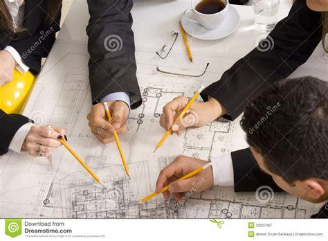meeting  team  engineers stock image image