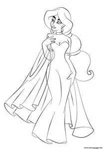 jasmine in wedding dress disney princess s6993 coloring pages free - Coloring Pages Ariel A Dress