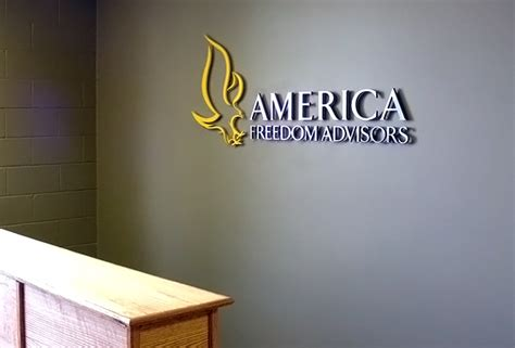Metal Corporate Logo Sign - Office Lobby Reception Wall ...