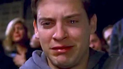 Tobey Maguire Face Meme - why hollywood won t cast tobey maguire anymore