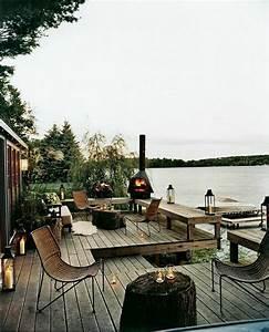 Decoration Terrasse En Bois : d co terrasse en bois rustique en 25 id es inspirantes ~ Melissatoandfro.com Idées de Décoration