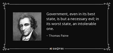 thomas paine quote government     state