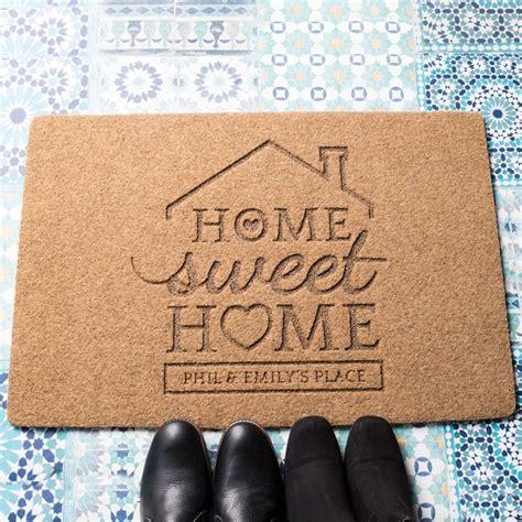 personalised doormat uk personalised outdoor doormat home sweet home
