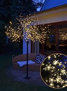 Led Baum Innen : kirschbl tenbaum 600 led 2 5 m in warmwei innen au en baum lichterbaum ~ Sanjose-hotels-ca.com Haus und Dekorationen
