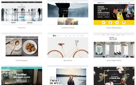 Wix Templates For by Wix Review Of Templates Ease Of Use Features More