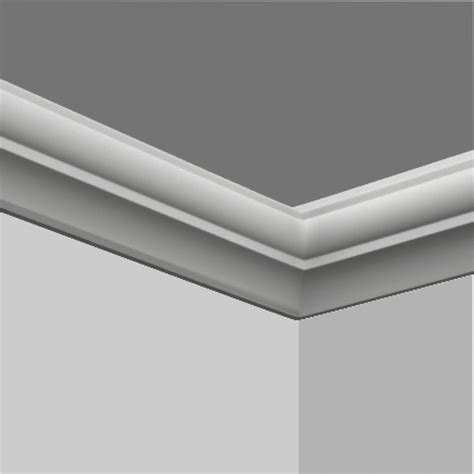 Polyurethane Small Thick Chair Rail Molding For Sale