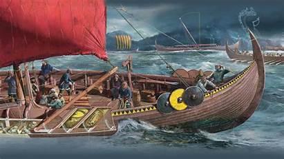 Vikings Ship Viking Longship Raiders Sea Geographic