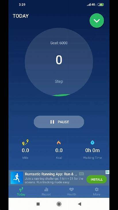 Android Apps Pedometer Step Joyofandroid Counter App