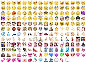 Japanese Emoji Characters