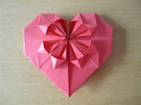 lenschirm basteln papier falten herz aus papier falten origami einfach und sch 246 n