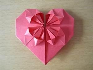 Herz Falten Origami : herz aus papier falten origami einfach und sch n youtube ~ Eleganceandgraceweddings.com Haus und Dekorationen