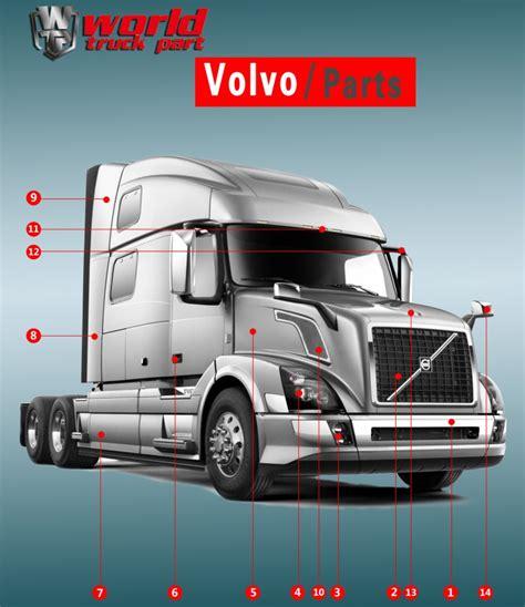 truck body parts  volvo vnl air deflector buy air