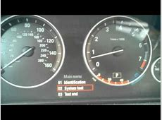 BMW Instrument Cluster Hidden Test Functions YouTube