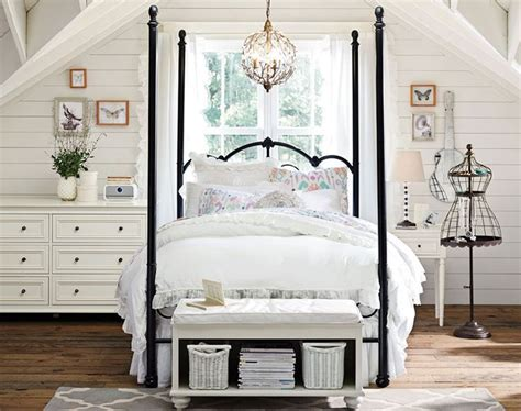 poster canopy bed iron canopy beds  teen girls