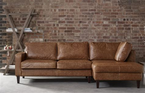 Leather Chesterfield Sofas For Sale by Drake Leather Chaise Sofa Leather Corner Sofas