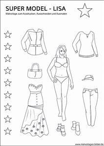 Pdf Seiten Ausschneiden : super model lisa ausmalbilder mit tollen kleidern ~ Orissabook.com Haus und Dekorationen