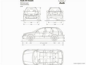 Dimensions Audi A4 : audi a4 wagon dimensions the wagon ~ Medecine-chirurgie-esthetiques.com Avis de Voitures