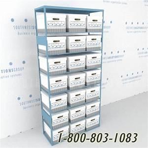 Large document storage office shelving atlanta columbus for Document storage atlanta