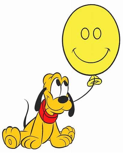 Pluto Disney Clipart Clip Cartoon Mickey Classic