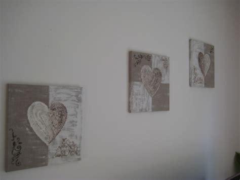 tableau triptyque quot romantique quot beige et blanc b deco