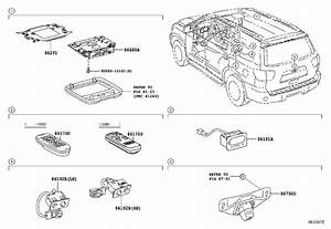 Toyota Sequoia Dvd Player Bracket  Displ