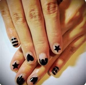 Easy to do nail designs for short nails at home ledufacom for Easy at home nail designs for short nails