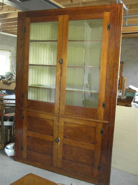 hutch vintage antique primitive corner cabinet cupboard hutch 1800 s