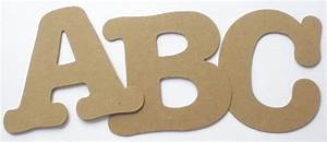 35quot boutique font chipboard or cardstock die cut With custom die cut letters