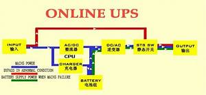 Online Ups Power Supply Circuit Diagram Ups