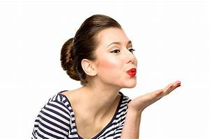 Royalty Free Blowing A Kiss Pictures, Images and Stock ...  Blowing