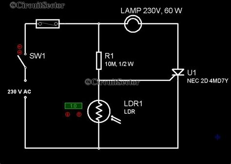 Electroniczzzz For Automatic Night Lamp Circuit