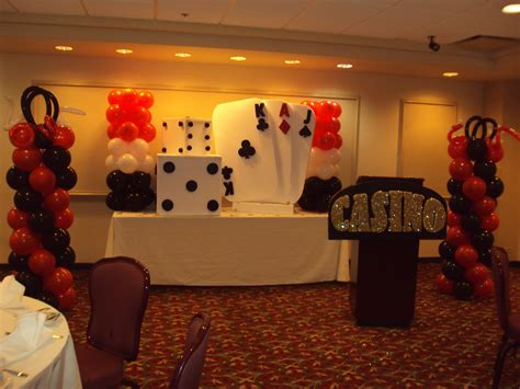 casino party decoration ivels creations pachanga