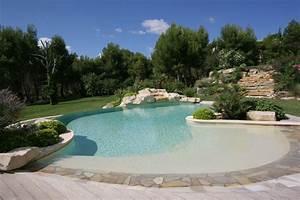diffazur piscines recompensee par 2 medailles europeennes With piscine forme libre avec plage 1 photos des plus belles piscines paysagares piscine