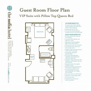 Typical Hotel Room Floor Plan