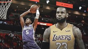 Kings news: De'Aaron Fox joins LeBron James after 30-point ...
