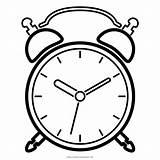 Clock Coloring Alarm Clocks Drawing Pages Printable Despertador Getdrawings Getcolorings Cleanpng sketch template