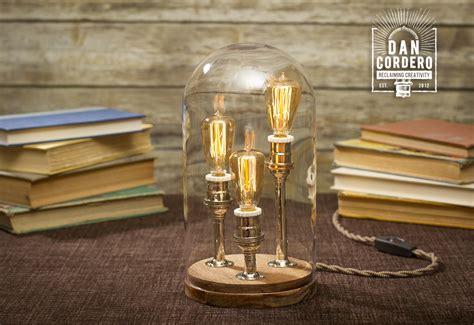 edison bell jar table l desk l home accet