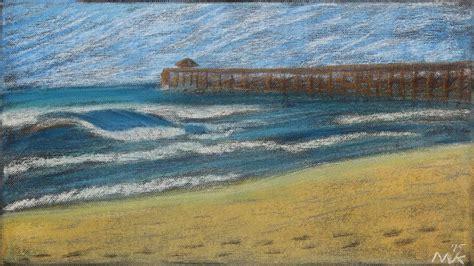 oak island pastel painting timelapse w