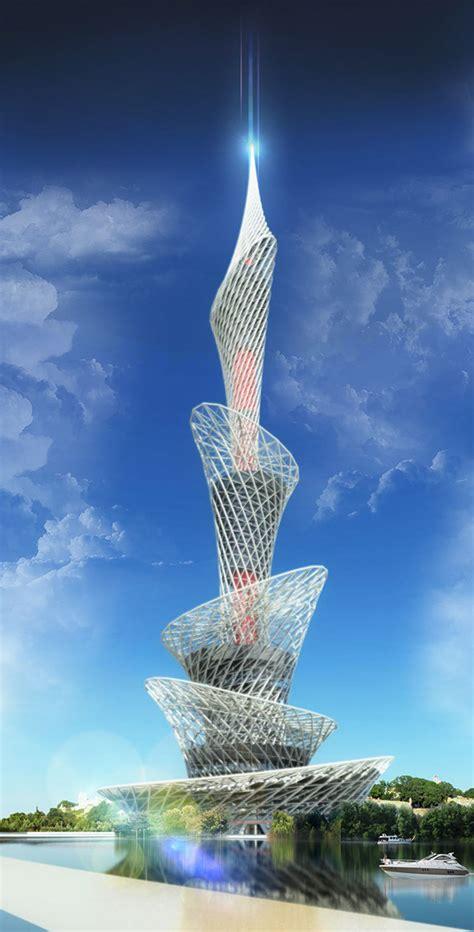 belgrade tower  behance