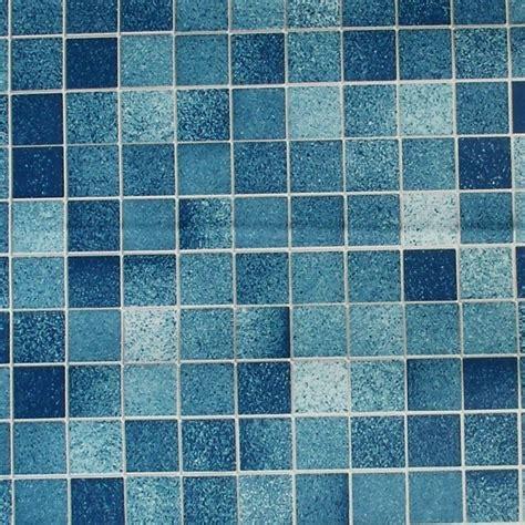 Tapete Selbstklebend Mosaik Fliesen Blaufliesentapete