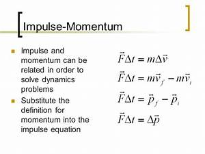 Impulse & Momentum Physics ppt download