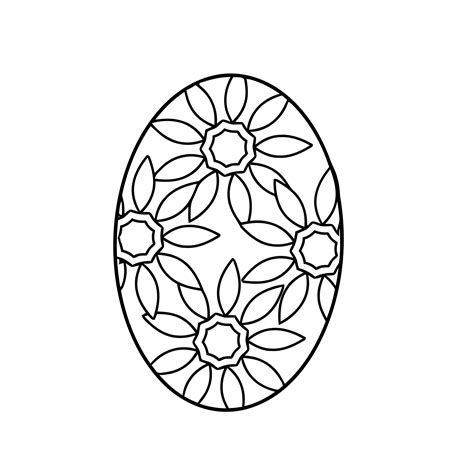 Coloring Egg by Easter Egg Coloring Pages 360coloringpages