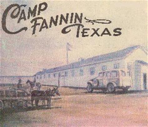 camp fannin texas