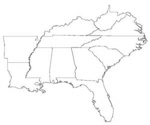 Southeast Region Home What We Do Southeast Regional Office ICLUS - Southeast region of the us map