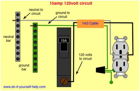 Wiring Diagram For Amp Circuit Breaker Electrical