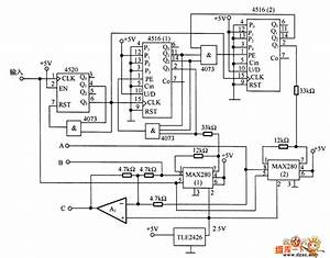 the 3 phase sine signal generator circuit signal With sinusoidal signal generator circuit diagram
