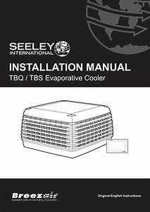 Breezair Tbq  Tbs Installation Manual