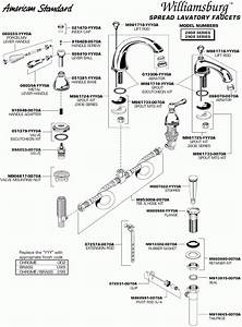American Standard Faucets Parts Diagram